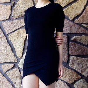 Topshop Black Bodycon Dress